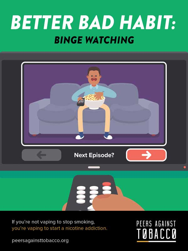 Better Bad Habit -- Binge Watching